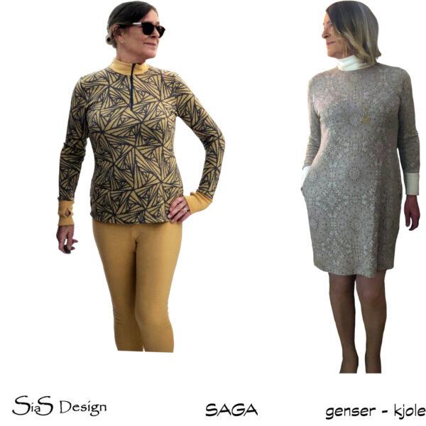 Saga genser og kjole